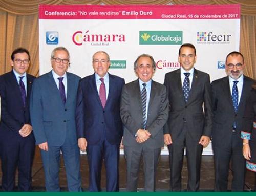 La Fundación, con la Cámara de Comercio de Ciudad Real y FECIR
